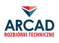 ARCAD Wrocław - rozbiórki, cięcie liną